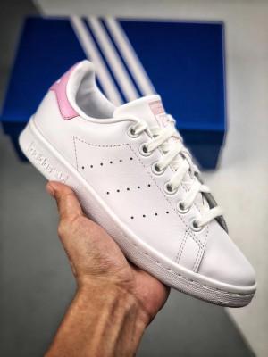 """Adidas Stan Smith レディース ヘビのテクスチャ """"ピンクの尾"""""""