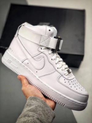 """1017 ALYX 9SM"" x Nike Air Force 1 ""ピュアホワイト"""