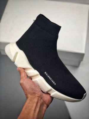 """バレンシアガ スピードトレーナー """"黒、白"""" 靴"""